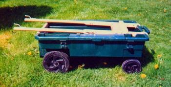 Converting An Ames Planters Wagon