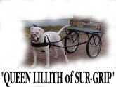 Queen Lilith of Sur-Grip with her cart
